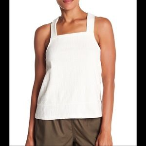 Madewell Textured Knit Apron Tank Top